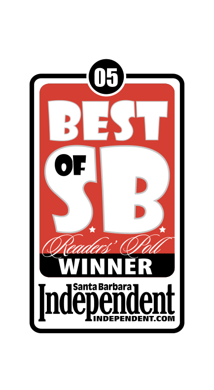 2005 Santa Barbara Independent Best of Santa Barbara Winner Badge