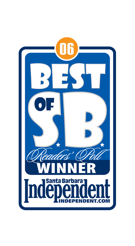2006 Santa Barbara Independent Best of Santa Barbara Winner Badge