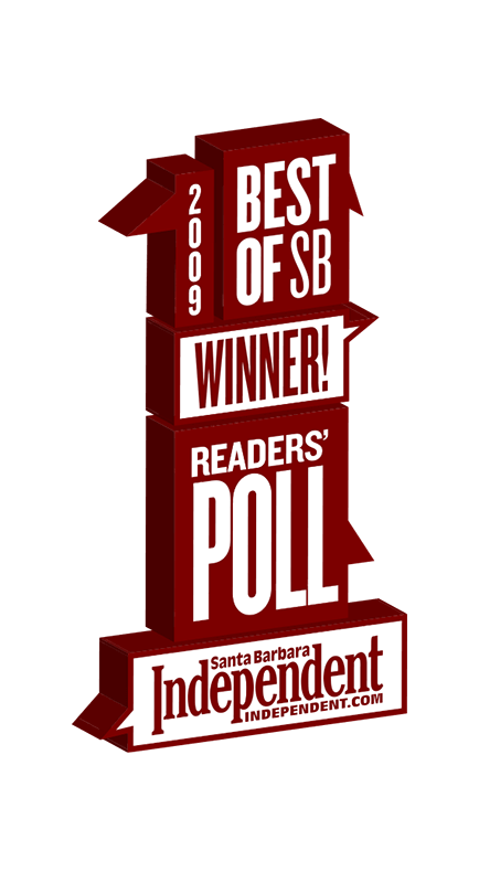 2009 Santa Barbara Independent Best of Santa Barbara Winner Badge
