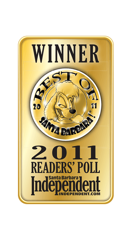 2011 Santa Barbara Independent Best of Santa Barbara Winner Badge
