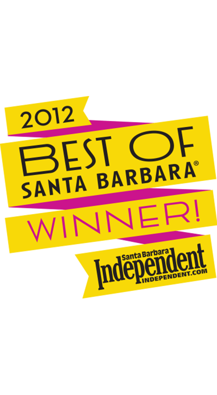 2012 Santa Barbara Independent Best of Santa Barbara Winner Badge