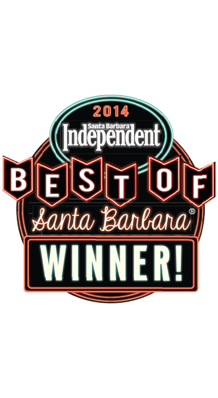 2014 Santa Barbara Independent Best of Santa Barbara Winner Badge