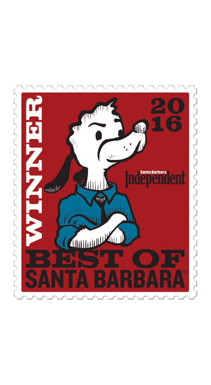 2016 Santa Barbara Independent Best of Santa Barbara Winner Badge